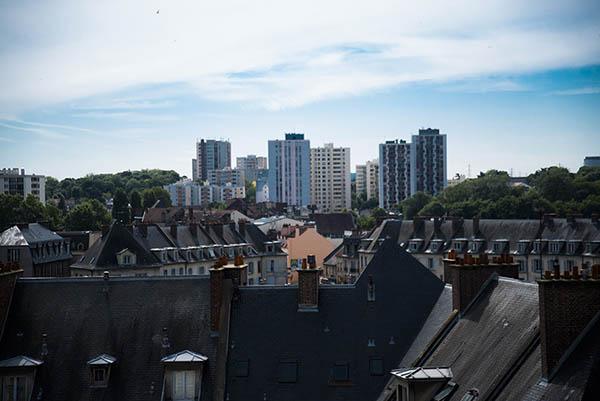 vue vers Saint-Ouen