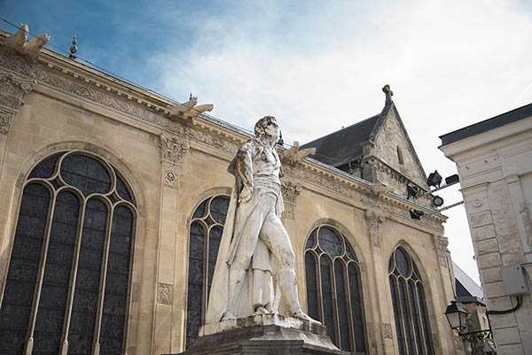 statue Leclerc