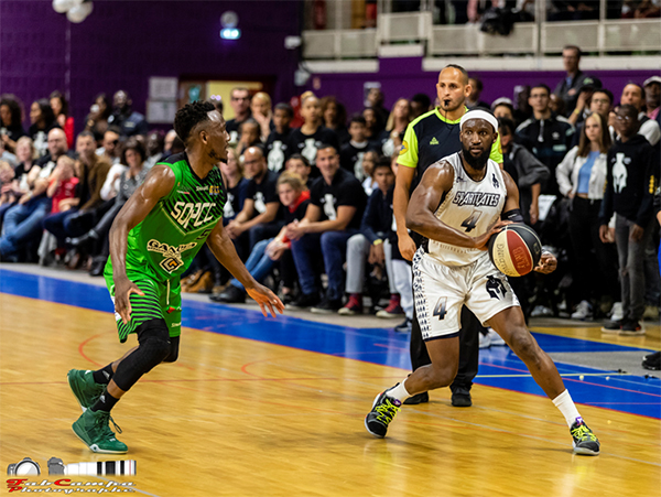 spartiates, cergy-pontoise basketball, playoffs, Modibo NIAKATE