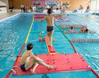 Parcours sportif piscine