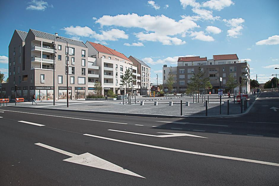 Inauguration du nouveau coeur de ville de Jouy-le-Moutier