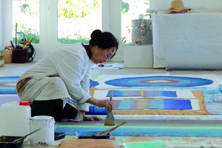 Bang Hai Ja en pleine création