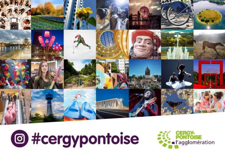 Campagne Instagram Cergy-Pontoise