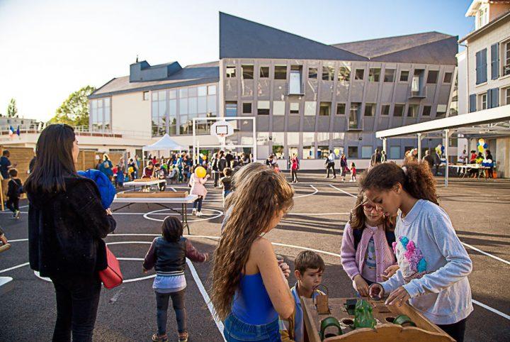 La nouvelle école des Lavandières à Pontoise