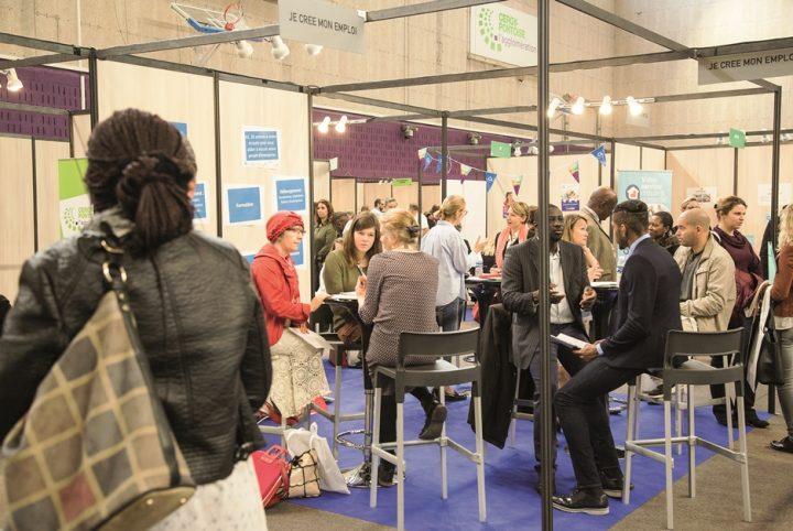 Forum de l'emploi à Cergy-Pontoise