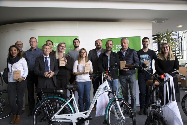 Les lauréats du Challenge mobilité 2019 © CACP