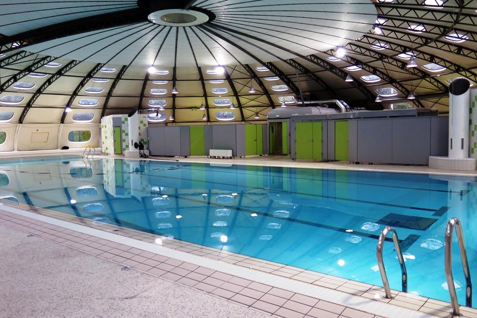 La piscine des Béthunes à Saint-Ouen l'Aumône