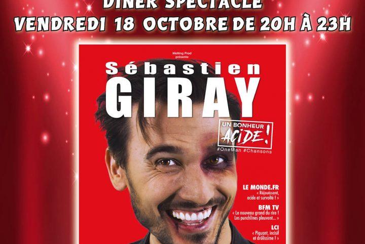 Affiche Saint-Vincent du rire - Sébastien Giray