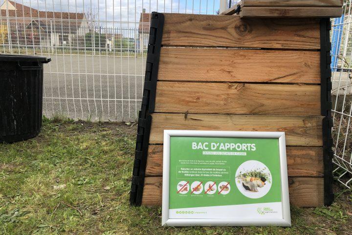 Bac de compostage en bois