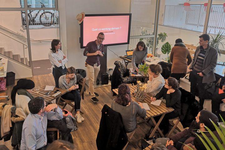 Atelier design thinking lors du RDV de novembre 2018