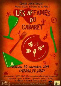 Affiche Les affamés du cabaret