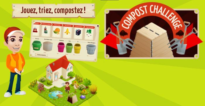 bannière de l'application Compost Challenge