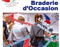 Braderie solidaire secours populaire