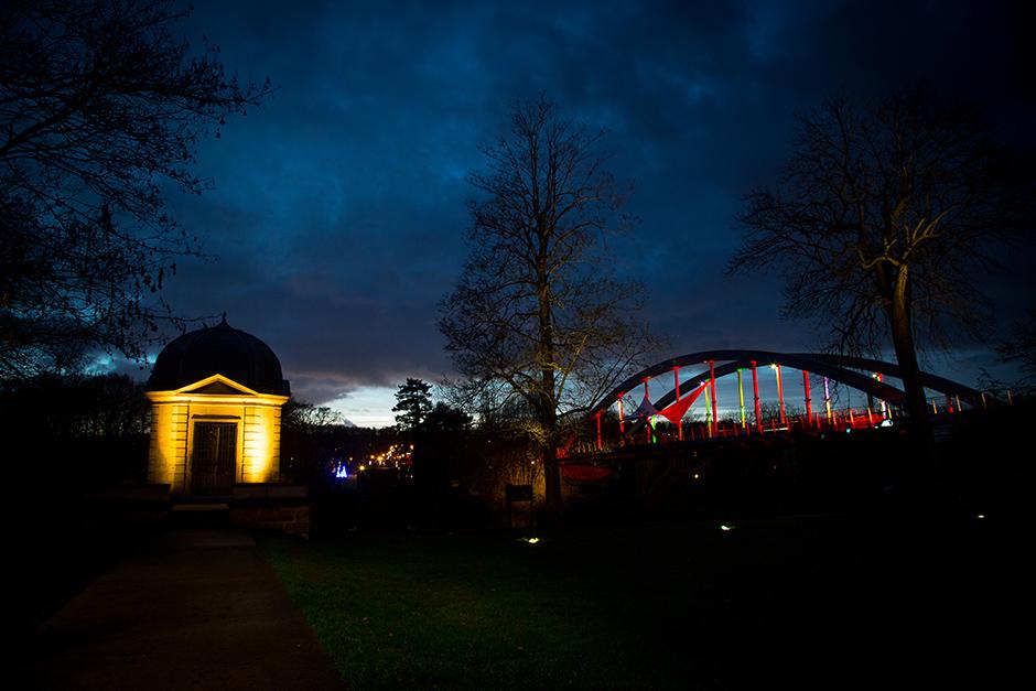 éclairage public pavillon amour neuville et pont Jouy-le-Moutier