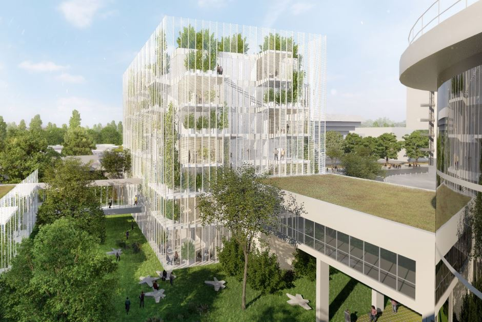 Perspective du campus Essec 2020