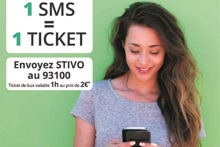 ticket bus SMS