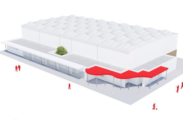 Future salle omnisports de Saint-Ouen l'Aumône