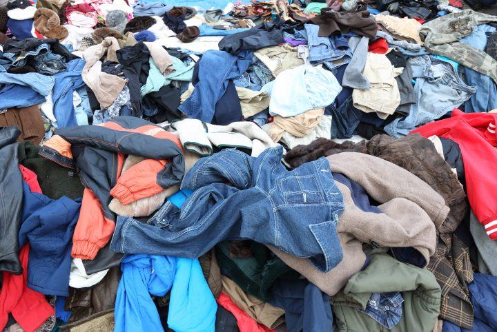 Textile déchet