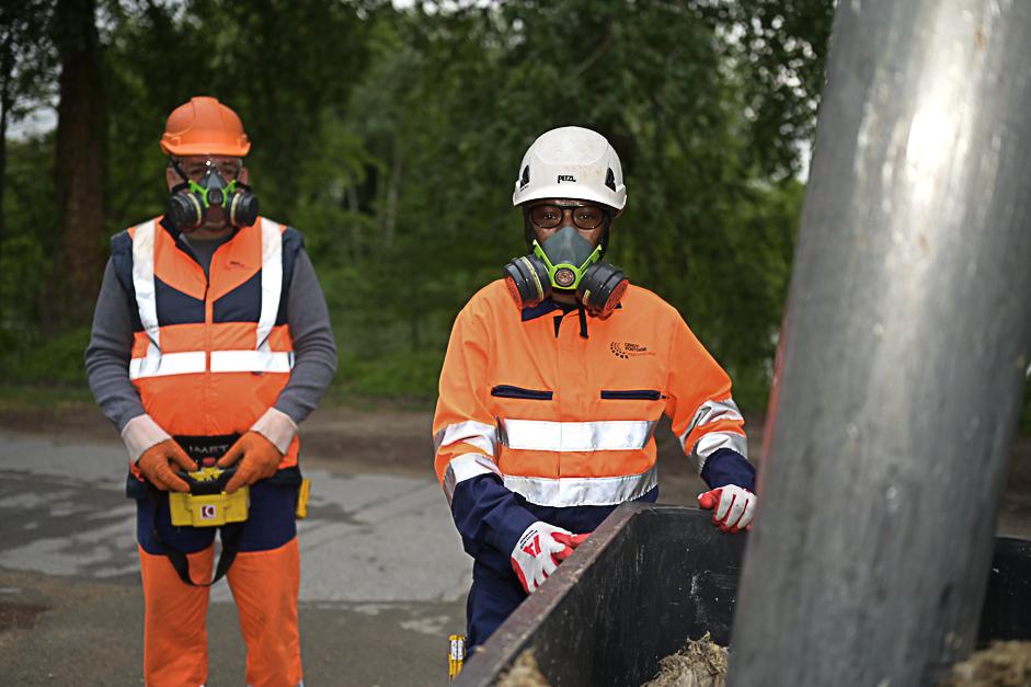 Covid-19 les agents de l'agglo sur le terrain © CACP