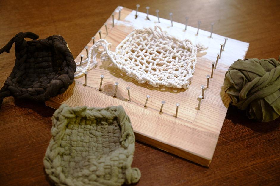 Eponge textile Tawashi