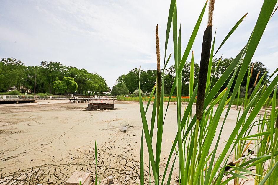 Bassin du parc François Mitterrand à Cergy-Pontoise