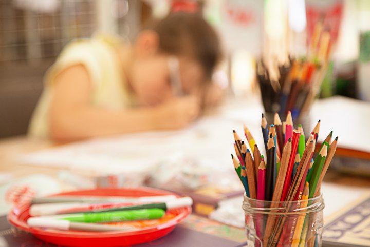 Pot à Crayon de couleur