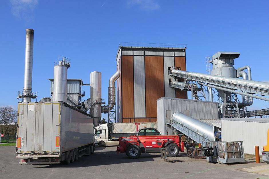 Chaufferie biomasse Cergy-Pontoise