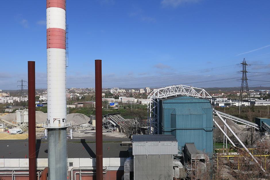 chaufferie charbon Cergy-Pontoise