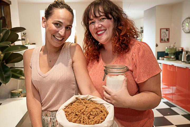 Julie Vantours et Julie Poinsignon, créatrices de l'Epicerie des Julie