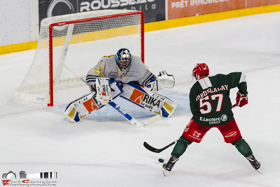 Photo match Jokers Vs Les Remparts de Tour - Hockey sur glace