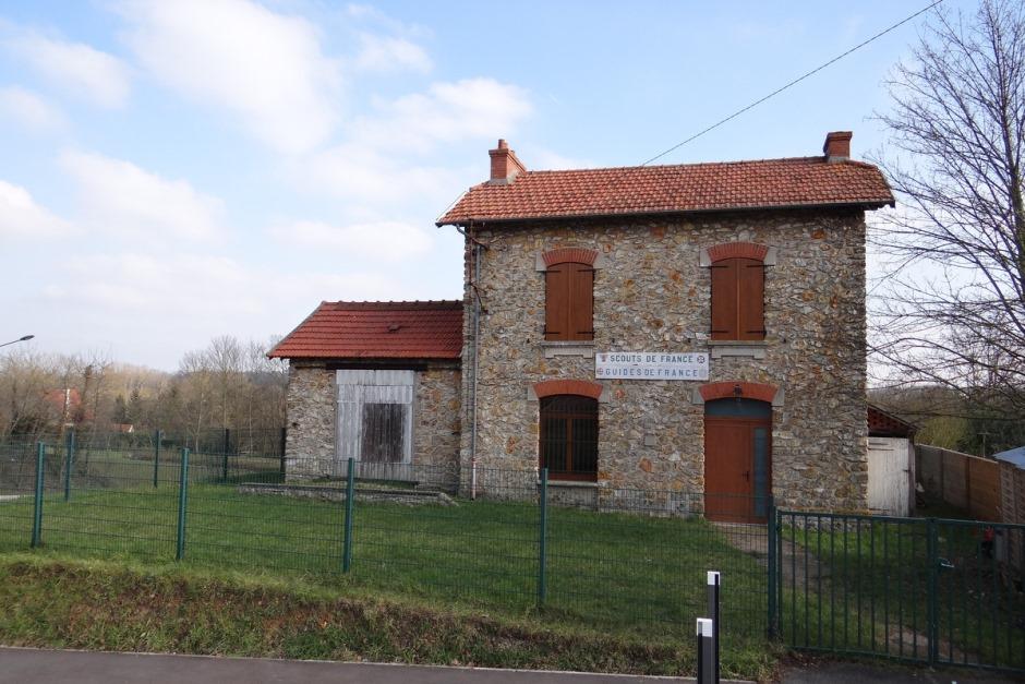 La gare de Jouy-le-Moutier