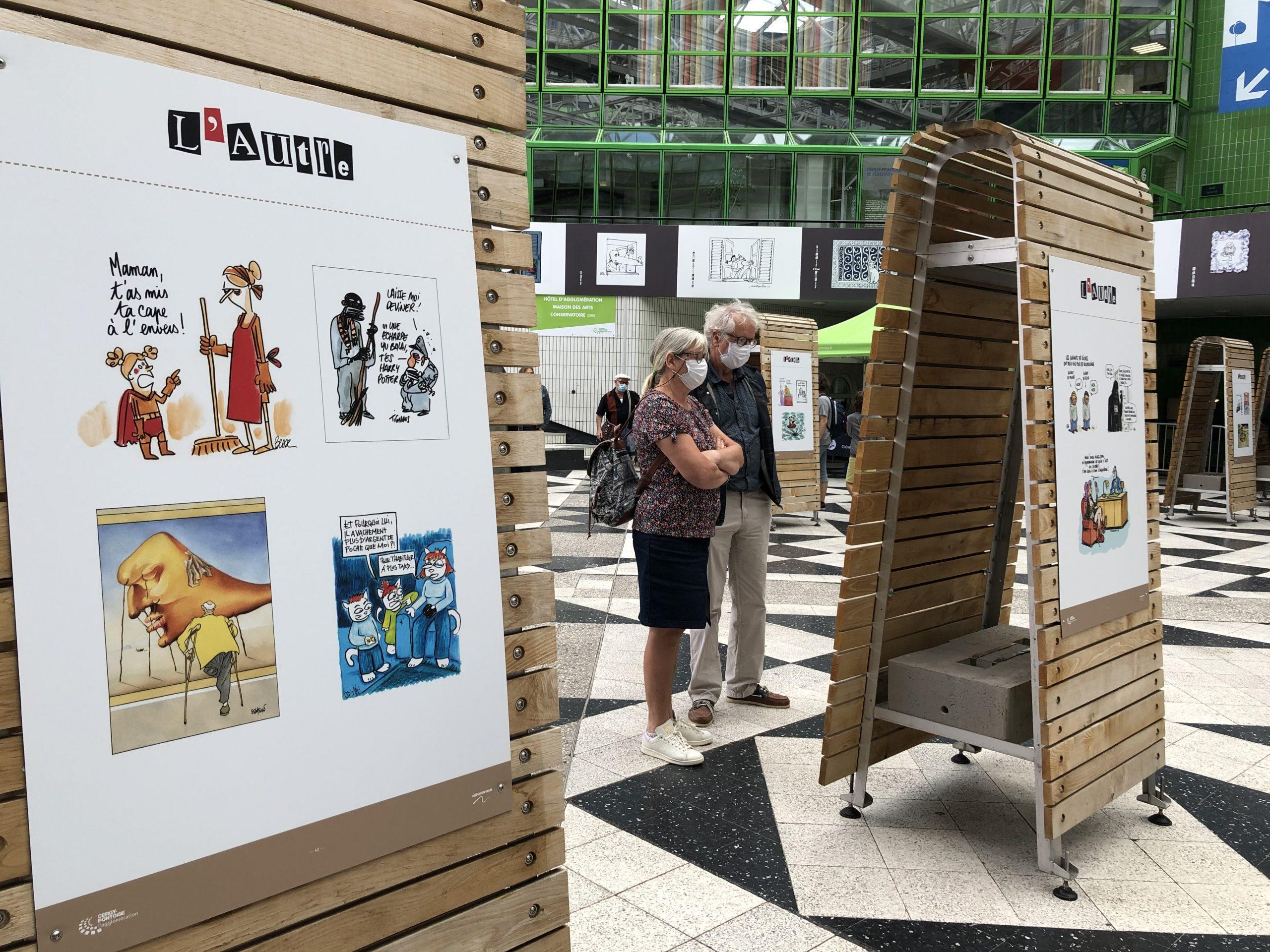 VERNISSAGE DE L'EXPOSITION DESSINS « L'AUTRE »