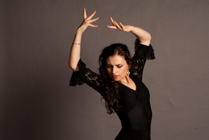 Aglae Degryse stage flamenco au CRR