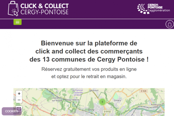 Click & Collect Cergy-Pontoise