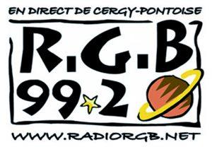 Logo de la radio locale de Cergy-Pontoise - Radio RGB 99.2 FM