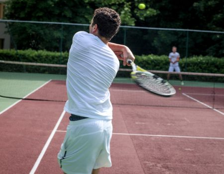 Terrain de tennis Parc F. Mitterrand Cergy