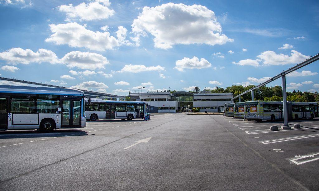 Dépôt de bus aux normes pour lebiométhane