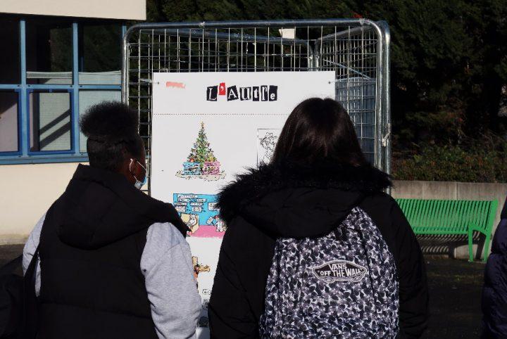 Exposition de dessins de presse et d'humour au lycée Escoffier d'Eragny-sur-Oise
