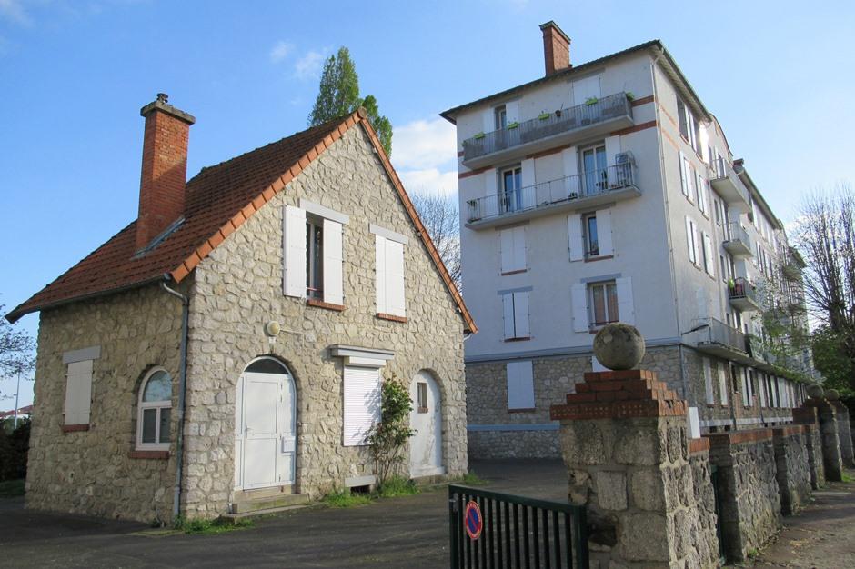 La Cité-Jardin, rue du Général Schmidt © Archives - Ville de Pontoise