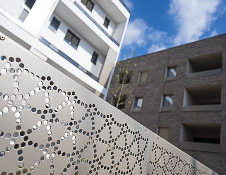 Architecture quartier des Marjoberts