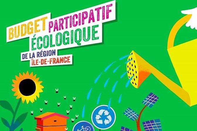 Budget participatif écologique Ile de France