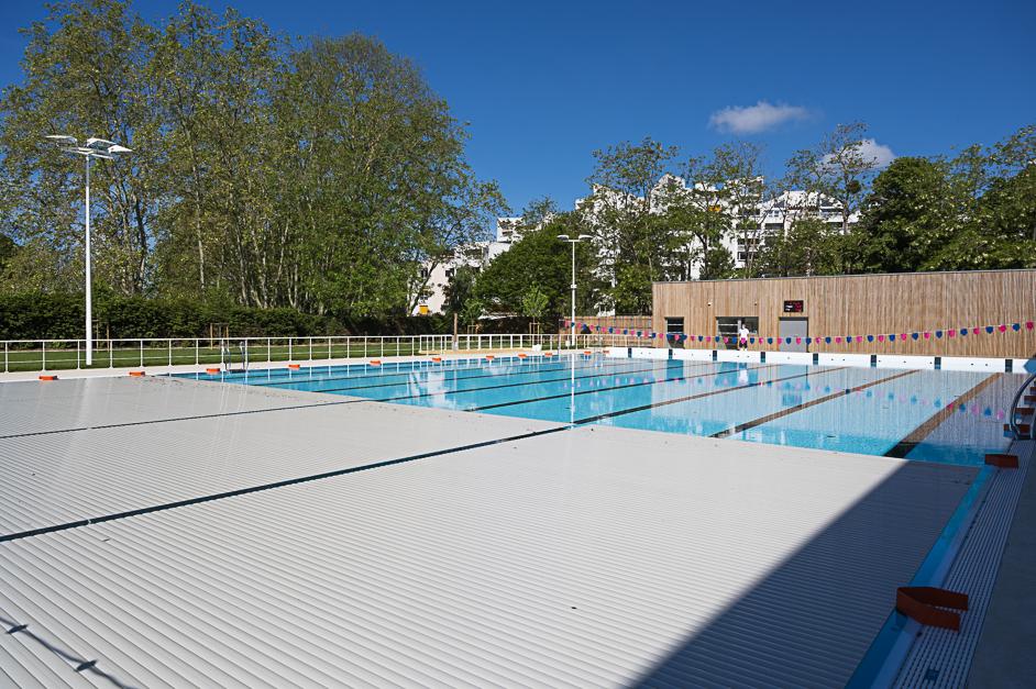 Le bassin nordique de la piscine du Parvis à Cergy-Pontoise