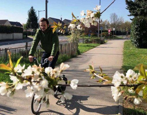 Itinéraire vélo Courdimanche - Gare de Cergy-le-Haut © CACP