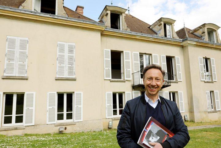 Stéphane Bern / Maison Anne et Gérard Philippe à Cergy