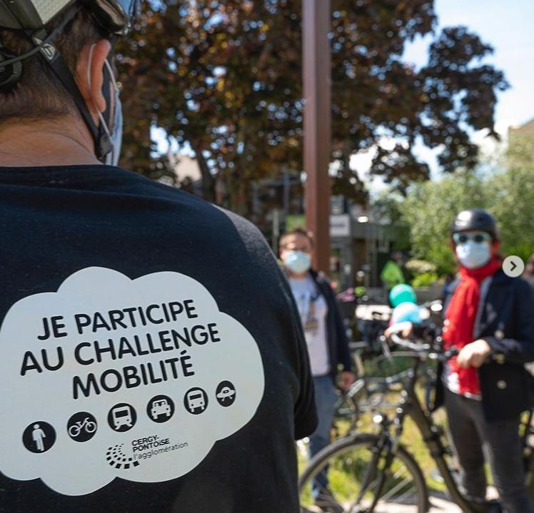 Phot participation au challenge Mobilité 2021