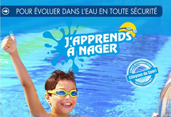 J'apprends à nager à Cergy-Pontoise