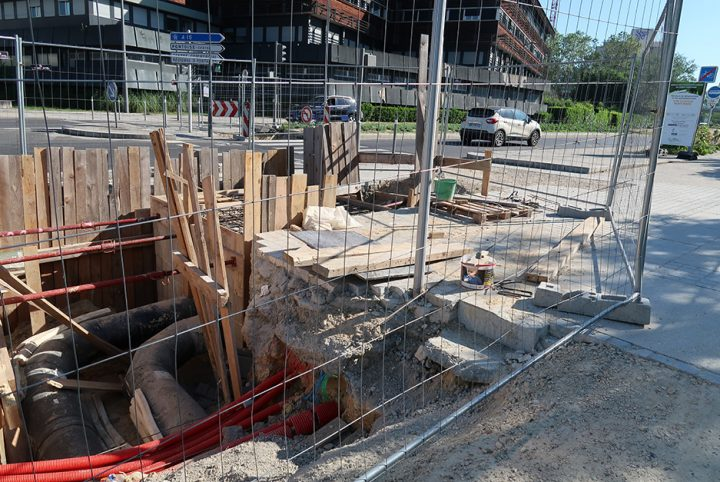 photo travaux chauffage urbain de Cergy-Pontoise