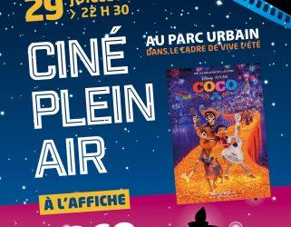 Accéder à Ciné plein air : Coco