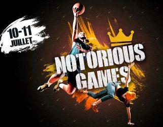 Accéder à Notorious Games : les stars font le show à Cergy-Pontoise