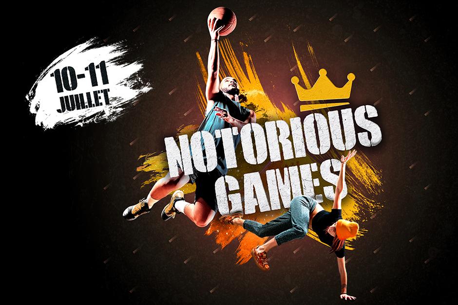 Notorious Games Cergy-Pontoise